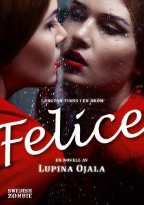 """""""Felice är en mörk pralin. Elegant bitter choklad (hög kakaohalt!) med varmt innehåll som smakar rött."""" (INTE SÅ) ANONYMA BIBLIOHOLISTER"""